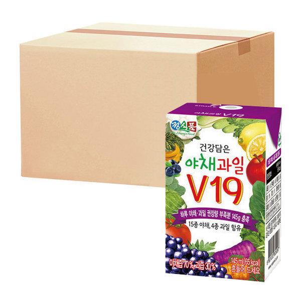 베지밀건강담은야채과일V19 145ml  48팩 상품이미지