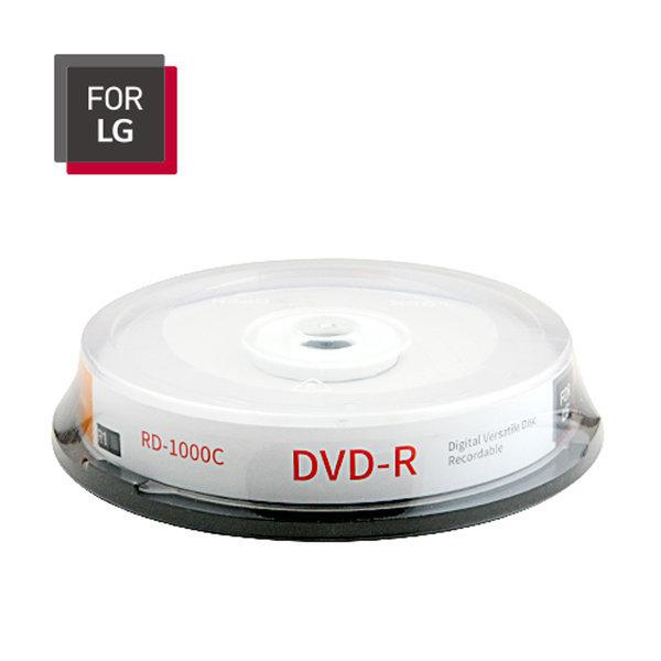 FOR LG DVD-R 10장 케이크/케이스 4.7GB 16배속 CAKE 상품이미지