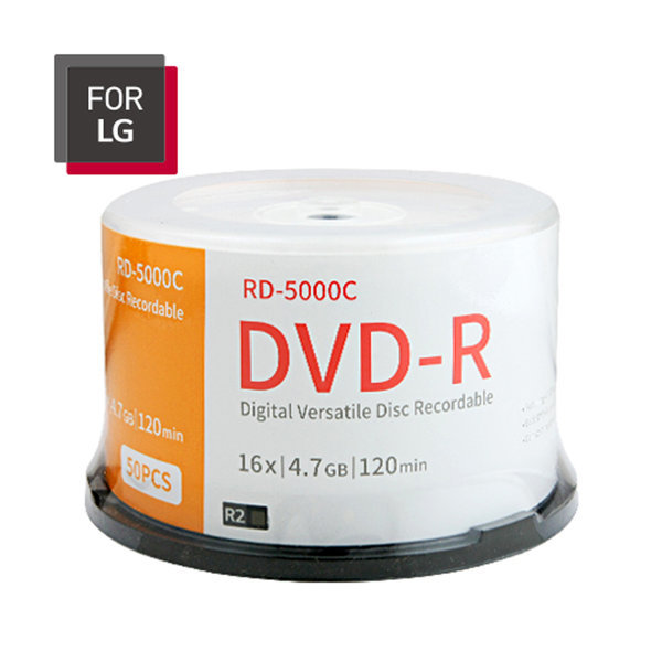 FOR LG DVD-R 50장 케이크/케이스 4.7GB 16배속 공DVD 상품이미지