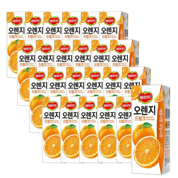 델몬트 오렌지 드링크 190ml 24팩 2박스 (총 48팩) 상품이미지