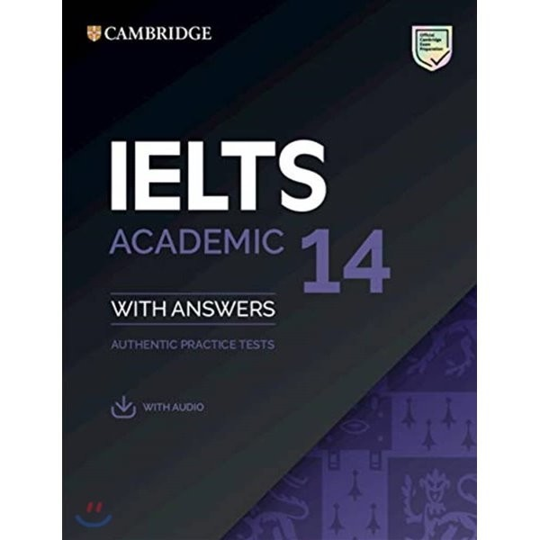 Cambridge IELTS 14 : Academic Student s Book with Answers  Cambridge University Press 상품이미지