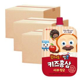 핑크퐁 키즈홍삼 사과당근 100ml 10입 3박스
