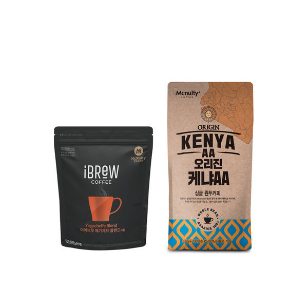 아이브루 예가체프50g+케냐 로스팅원두커피 1kg 1+1 상품이미지