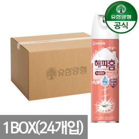 해피홈 에어로솔 모기약 복숭아향 500ml 1BOX (24개입)