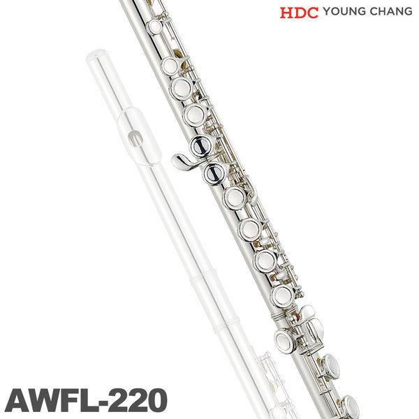 영창 플룻 AWFL-220 알버트웨버 NEW 신모델 입문용 상품이미지