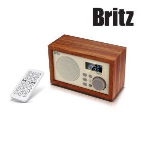 [공식판매점] 브리츠 BA-C1 SoundRoom 휴대용 블루투스 스피커/오디오/라디오/시계/알람/핸즈프리/무선...