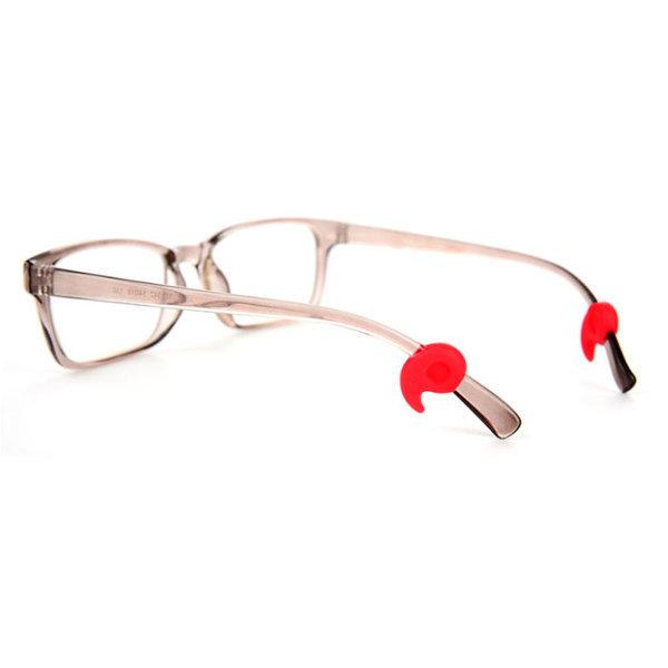 편안한 쉼표 귀고무 안경코받침 코패드 뿔테 금속테 상품이미지