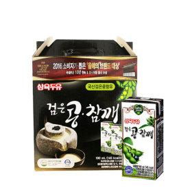 삼육 검은콩참깨두유 190ml x 32팩