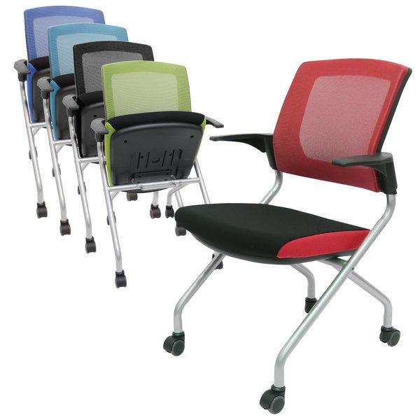 시티 매틱 체어 상담실 학원 회의용 연수용 의자 상품이미지