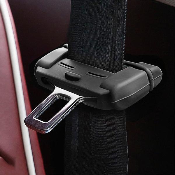 차량용 안전벨트클립 커버 내장재 잡소리 기스방지 상품이미지