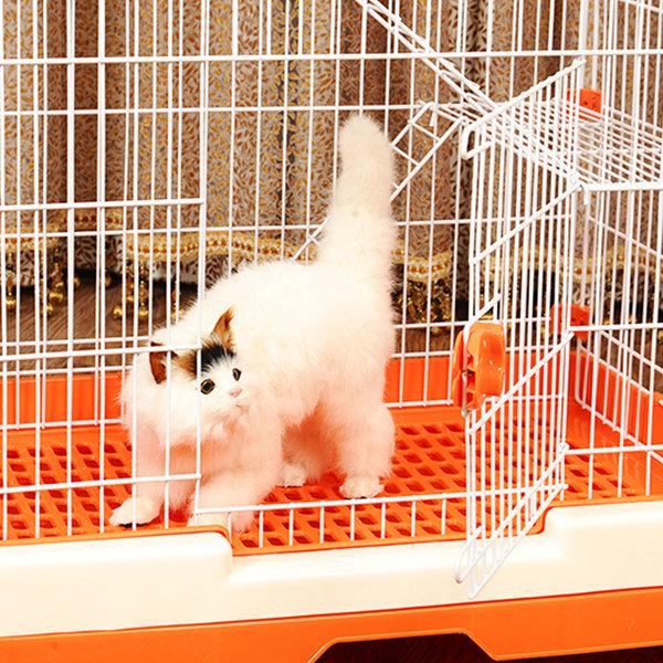 고양이 빌라 케이지 하우스 핑크S 상품이미지