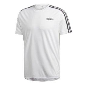 아디다스 D2M 숏 슬리브 삼선 티셔츠 DU1242
