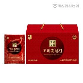 개성상인 고려홍삼진 50ml 30포 / 6년근 홍삼