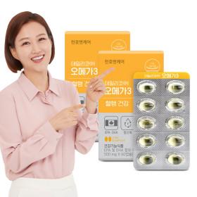 데일리코어 오메가3  60캡슐 3박스(3개월분)