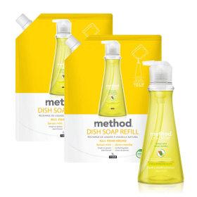 메소드 주방세제 레몬민트 532ml 2개