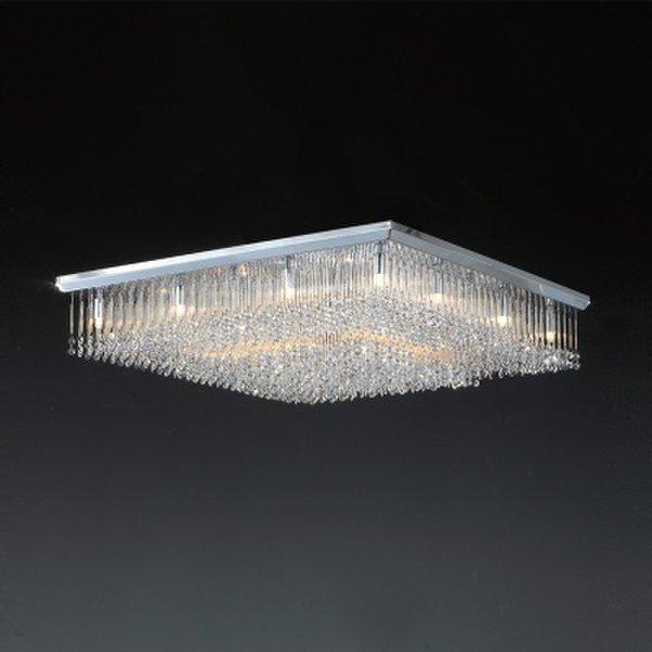 (핫트랙스) LED G9 전구색 (노란불) - LED 클레인 16등 크리스탈 직부 상품이미지