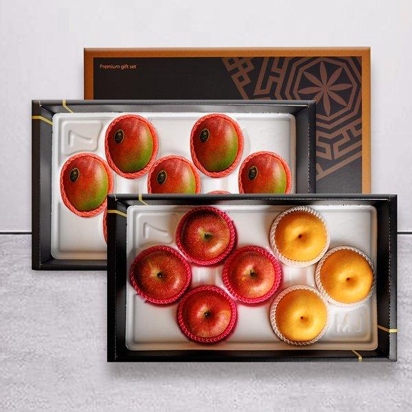 예작과일선물세트  사과 배 7과(사과4/배3)+망고7과 상품이미지