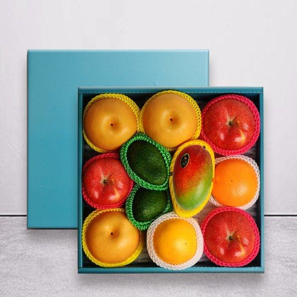 명작과일선물세트  사과3과+배3과+오렌지2+아보카도2과+망고1과 상품이미지