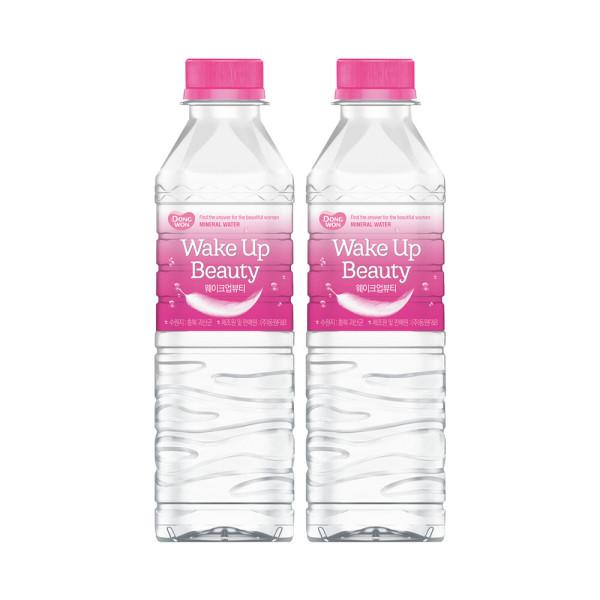 동원샘물 웨이크업뷰티 500ml(멀티)x40병 /생수 상품이미지