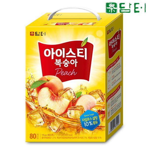 담터 복숭아홍차 80T+10T 총90T/아이스티 상품이미지