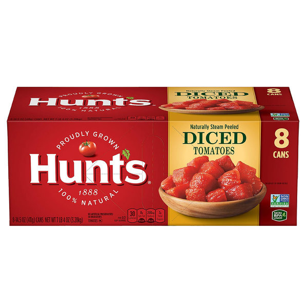 Hunts NON GMO Diced Tomatoes 토마토 통조림 8개 상품이미지