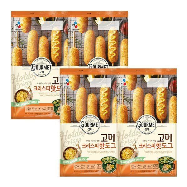 (현대Hmall) CJ제일제당  고메핫도그크리스피480G X 4봉 (24개입) 상품이미지