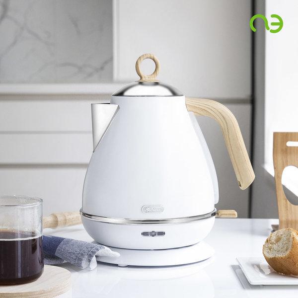 아띠랑스 커피 전기 포트 무선 주전자 화이트 K0011 상품이미지