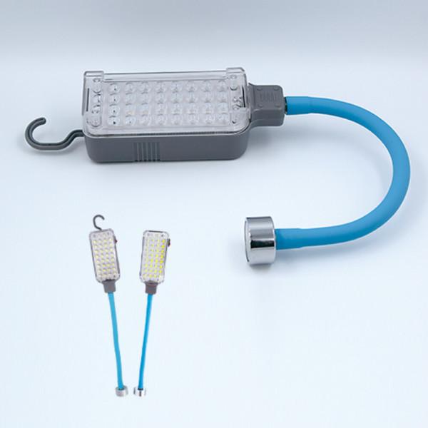 34구 LED 충전식 자석자바라  랜턴 휴대용   작업등 상품이미지