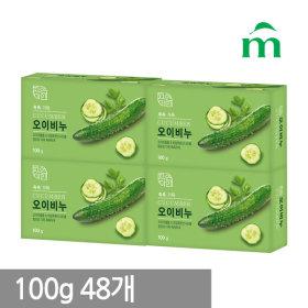 자연미인 오이비누 100g(3+1) x 12개