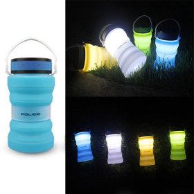 태양광 캠핑랜턴 블루 캠핑등 led 랜턴 캠핑용품