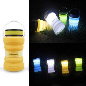 태양광 캠핑랜턴 오렌지 캠핑등 led 랜턴 캠핑용품