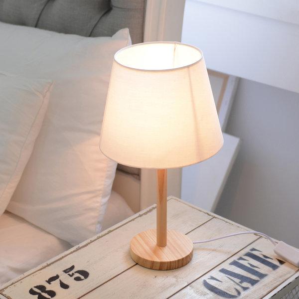 버치 단스탠드(네츄럴/원형) +LED 전구색 상품이미지