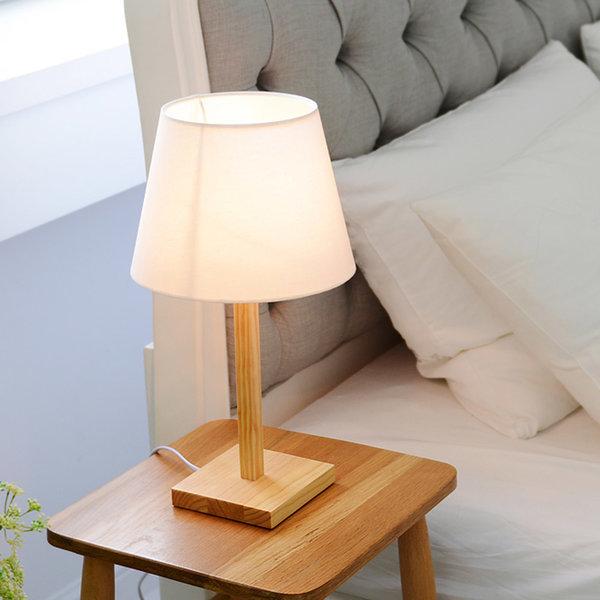 버치 단스탠드(네츄럴/사각) +LED 전구색 상품이미지