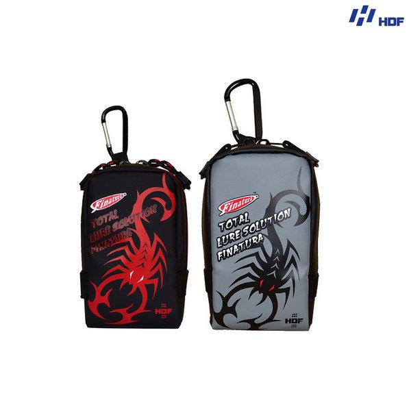 루어낚시 보조가방 피나투라 벨트 보조백 M 블랙 상품이미지