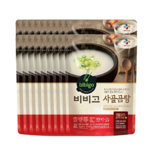 [CJ제일제당]비비고 사골곰탕 500g 18개