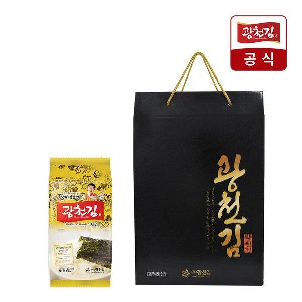 광천김  달인 광천김 도시락김4g x 27봉 선물세트 상품이미지