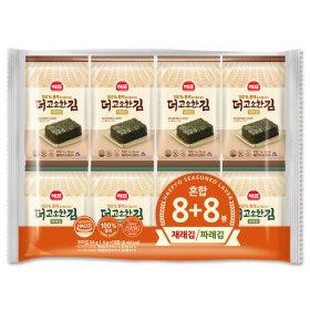 사조 더고소한 혼합김 도시락용 16봉(재래김/파래김)