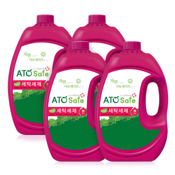 로하스인증 액체세제 2.5L 4개/세탁세제 상품이미지