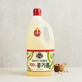 CJ 백설유콩기름 1.8L