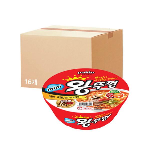 미니왕뚜껑 80gX1BOX(16개) 상품이미지