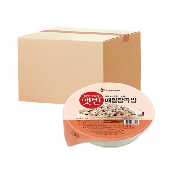 CJ 햇반 매일잡곡밥 210g x 24개 상품이미지