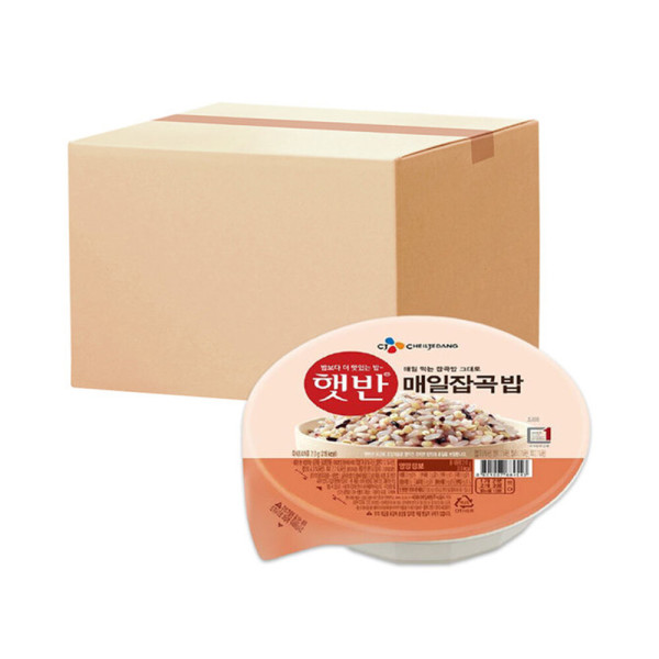 햇반 매일잡곡밥 210g 24개 유통기한 2021-07-07 상품이미지