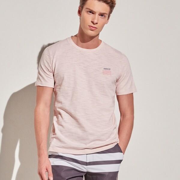 아르고 캘리포니아 반팔 면 티셔츠 상의 핑크 (argoMTS121PK) 상품이미지