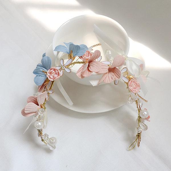 웨딩 화관 아틀란티스 셀프웨딩소품 꽃 브라이덜샤워 상품이미지