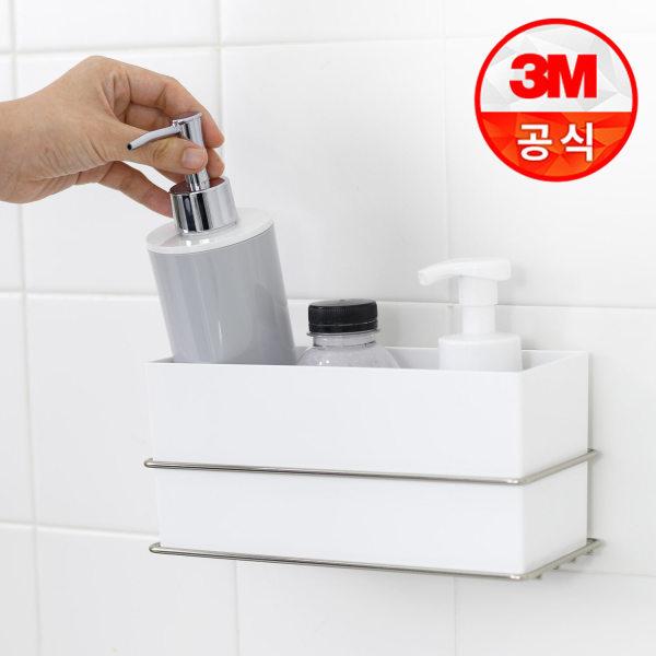 3M 코맨드 메탈 다용도 수납함 욕실수납/욕실정리 상품이미지