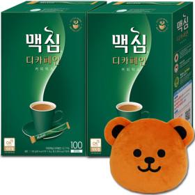 디카페인 커피믹스  100TX2개 총200T