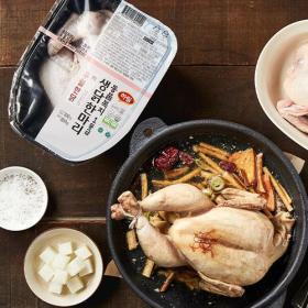 우월한닭  동물복지 1등급 닭 백숙용
