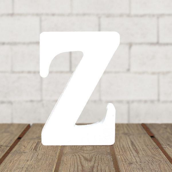 우드 화이트 알파벳_Z 홈 카페 인테리어소품 DIY 상품이미지