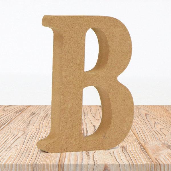 우드 내추럴 알파벳 B 홈 카페 인테리어 소품 DIY 상품이미지