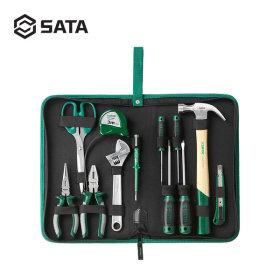 SATA 사타 고급형 가정용 12P 다용도 수공구세트